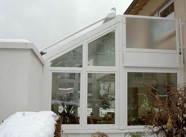 Referenzen Wintergärten | Färber Fensterbau