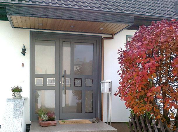 Referenzen Haustüren  Färber Fensterbau